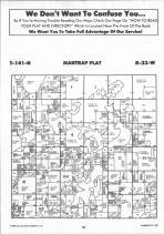 Mantrap T141N-R33W, Hubbard County 1992 Published by Farm and Home Publishers, LTD